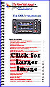 Nifty Yaesu FTM-400DR operating guide