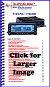 Nifty Yaesu FTM-350R operating guide