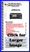 Nifty Icom IC-718 operating guide