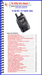 Yaesu FT1DR FT1XDR Mini-Manual by Nifty Accessories