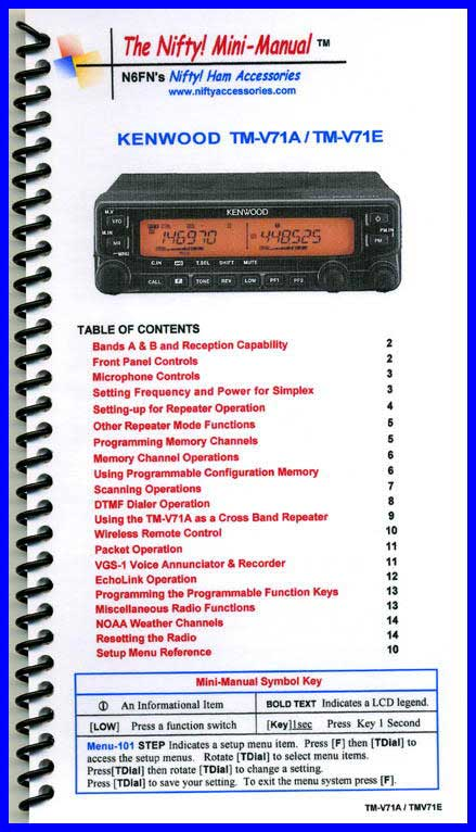 kenwood tm v71a manual