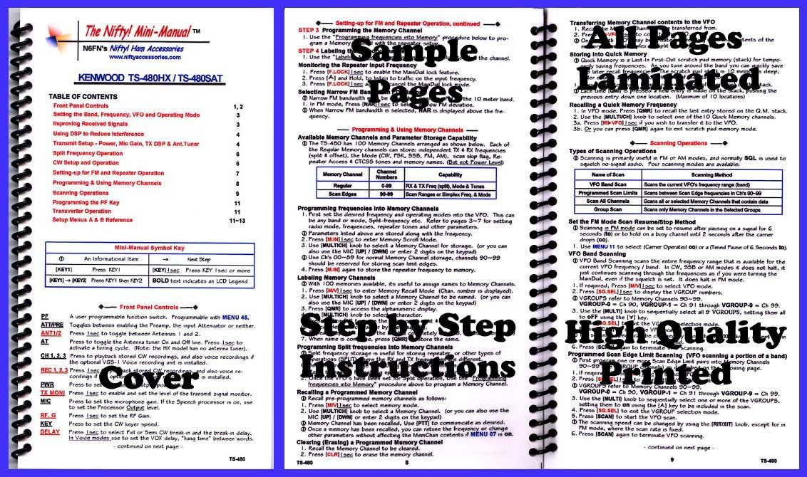 Ts 480 Service Manual